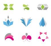 комплект иконы Стоковые Изображения RF