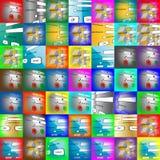 Комплект имен пользователя Стоковые Фотографии RF