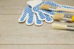 Комплект инструментов для красить дом Стоковая Фотография RF