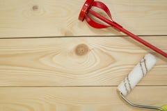 Комплект инструментов для красить дом Стоковые Изображения