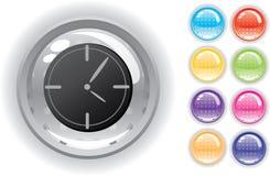 комплект интернета иконы кнопок Стоковое Изображение