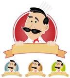 комплект кашевара шеф-повара знамени Стоковые Фото