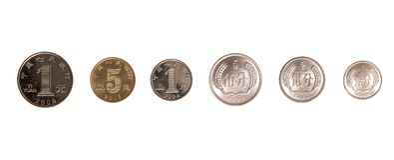Комплект китайских монеток Стоковые Фото