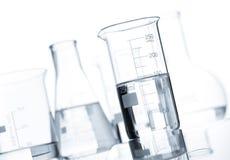 Комплект классицистических склянок лаборатории Стоковые Фото