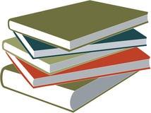 комплект книги Стоковое Изображение RF