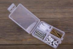 Комплект коробки винта Стоковое фото RF