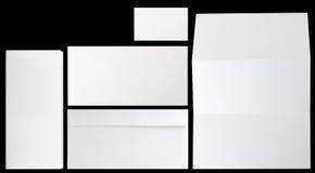 комплект корпоративной тождественности Стоковое фото RF