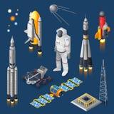 Комплект космоса равновеликий бесплатная иллюстрация
