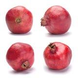 комплект красного цвета pomegranate Стоковое Изображение RF