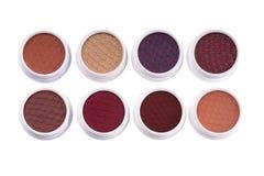Комплект красочных теней глаза Стоковые Изображения RF