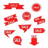 Комплект ленты продажи Стоковое фото RF