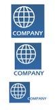 комплект логоса Стоковые Изображения