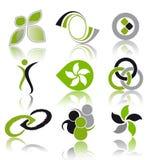 комплект логоса Стоковая Фотография RF