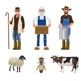 Комплект людей различных профессий иллюстрация вектора