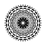 Комплект мандалы Круговая картина в форме мандалы иллюстрация штока