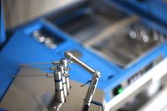 Комплект меняемых зубоврачебных инструментов Стоковые Изображения RF