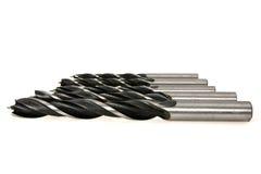 комплект металла сверла битов Стоковая Фотография RF