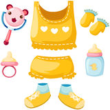 Комплект младенца Стоковые Изображения RF