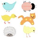 Комплект молодых животных Стоковые Изображения RF