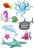 комплект моря Стоковые Изображения