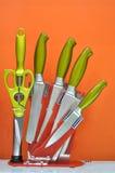 комплект ножа Стоковое Фото