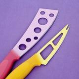 комплект ножей кухни самомоднейший Стоковая Фотография