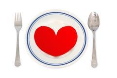 комплект обедающего романтичный Стоковое Изображение RF
