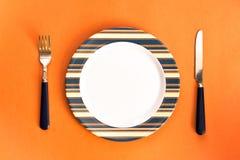 комплект обеда Стоковое Изображение RF