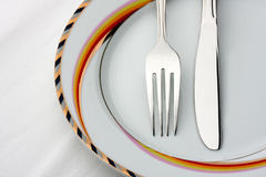комплект обеда Стоковая Фотография