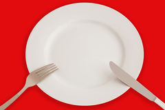 комплект обеда Стоковое Фото