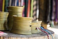 Комплект ожерелья золота для племени холма Стоковые Изображения RF