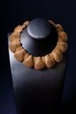 комплект ожерелья jewellery золота Стоковые Фотографии RF