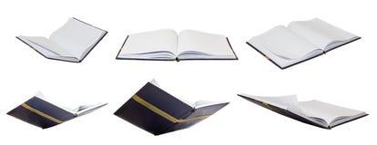 Комплект отверстия книги изолировал концепцию образования творческую Стоковые Фотографии RF