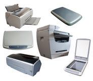 комплект офиса приборов различный стоковое фото