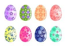 Комплект пасхального яйца стоковая фотография rf