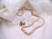 комплект перлы Стоковое фото RF