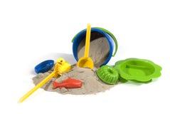 комплект песка игры Стоковое фото RF