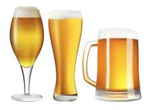 комплект пива Стоковая Фотография