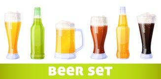 комплект пива Стоковое фото RF