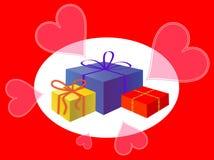 комплект подарка Стоковое Изображение