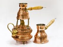 комплект подготовки кофе Стоковые Фотографии RF