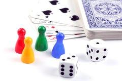 комплект покера Стоковые Фото