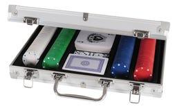 комплект покера Стоковые Изображения