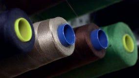 Комплект потока швейной машины сток-видео
