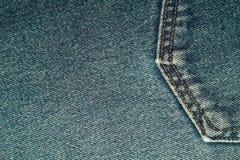 Комплект предпосылки джинсов джинсовой ткани различных выборов стоковое изображение