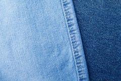 Комплект предпосылки джинсов джинсовой ткани различных выборов Стоковое Фото