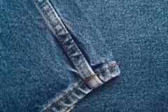 Комплект предпосылки джинсов джинсовой ткани различных выборов Стоковые Изображения