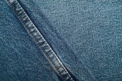 Комплект предпосылки джинсов джинсовой ткани различных выборов Стоковые Изображения RF