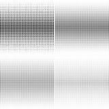 Комплект предпосылок поставленных точки полутоновым изображением Patte вектора влияния полутонового изображения Стоковые Изображения RF