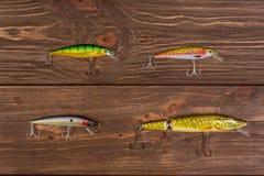 Комплект прикормов рыболовства Стоковая Фотография